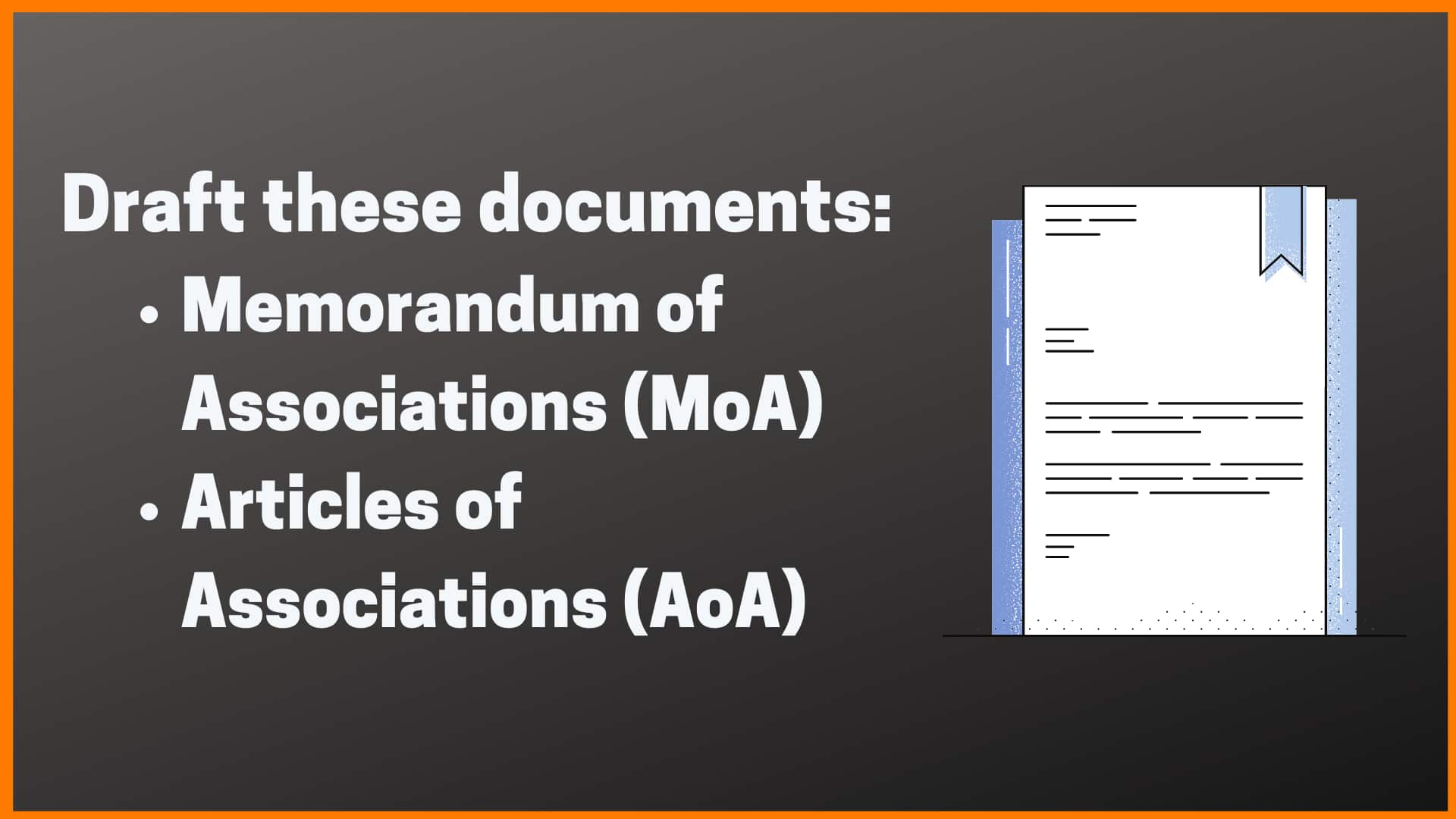 Drafting Documents for registering business in India