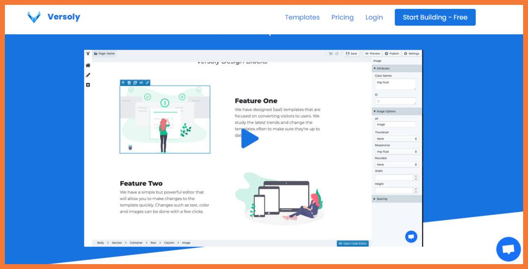 versoly-landing-page-builder-Startuptalky
