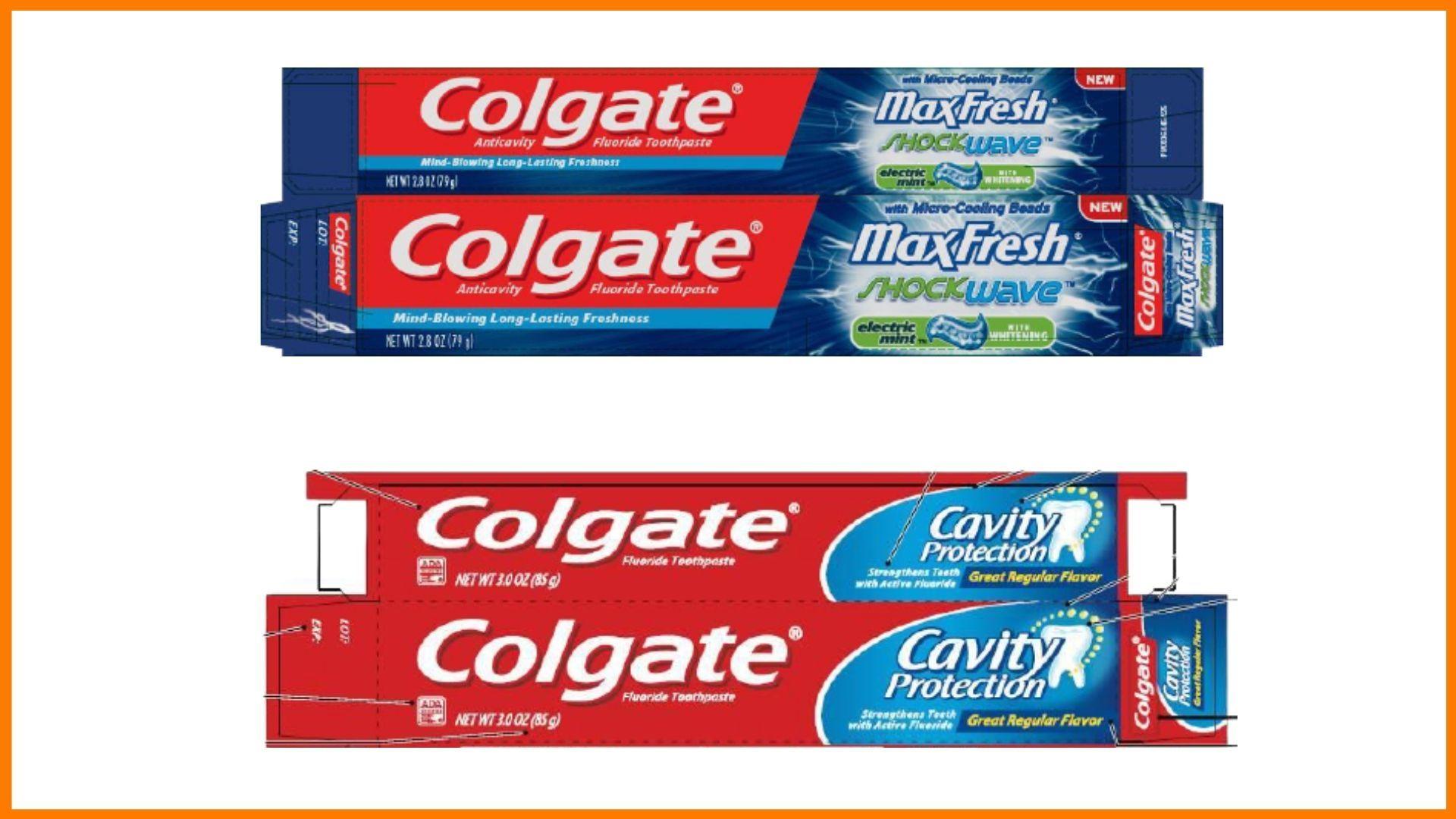 Colgate Packaging