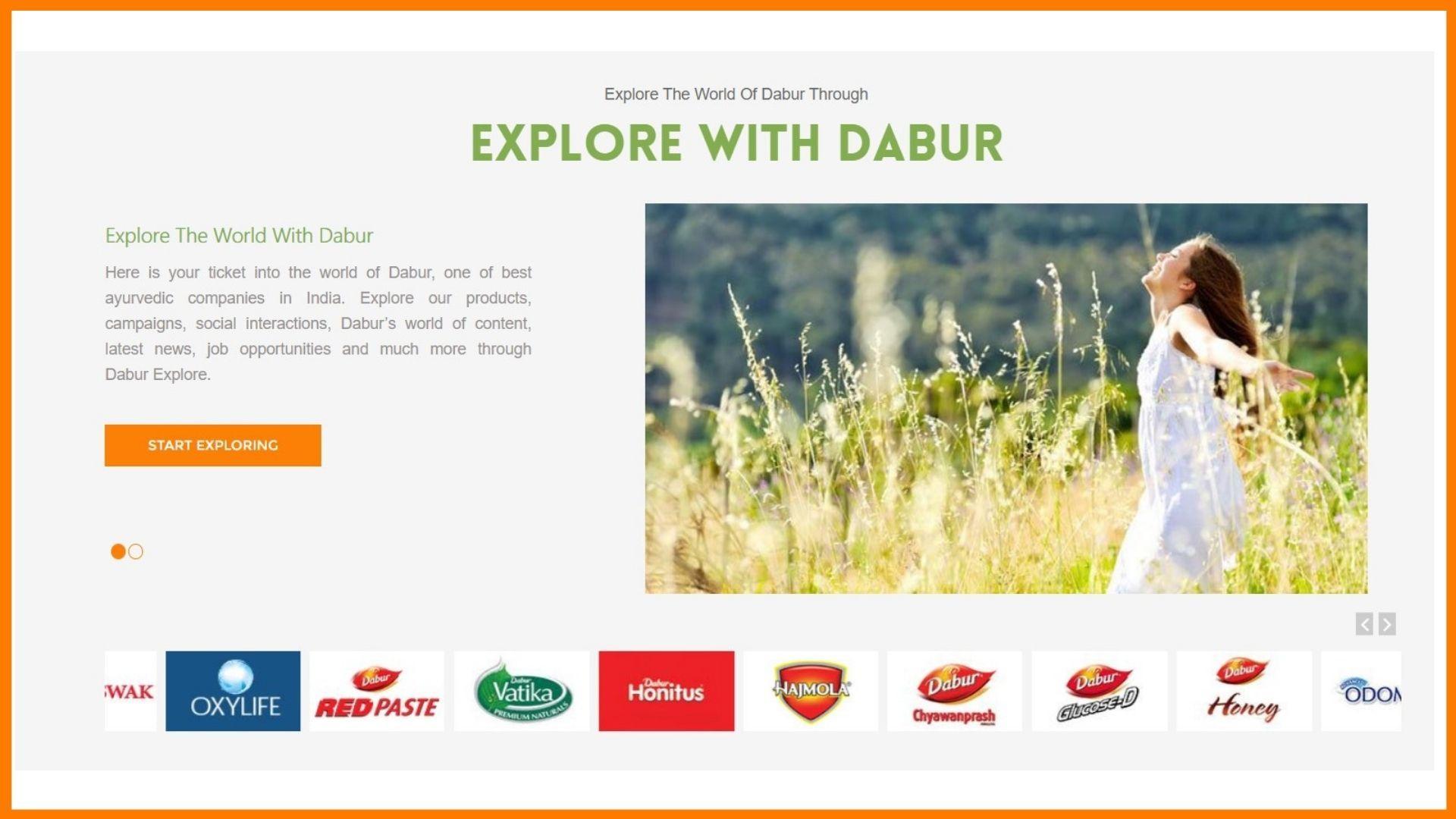 Dabur Website