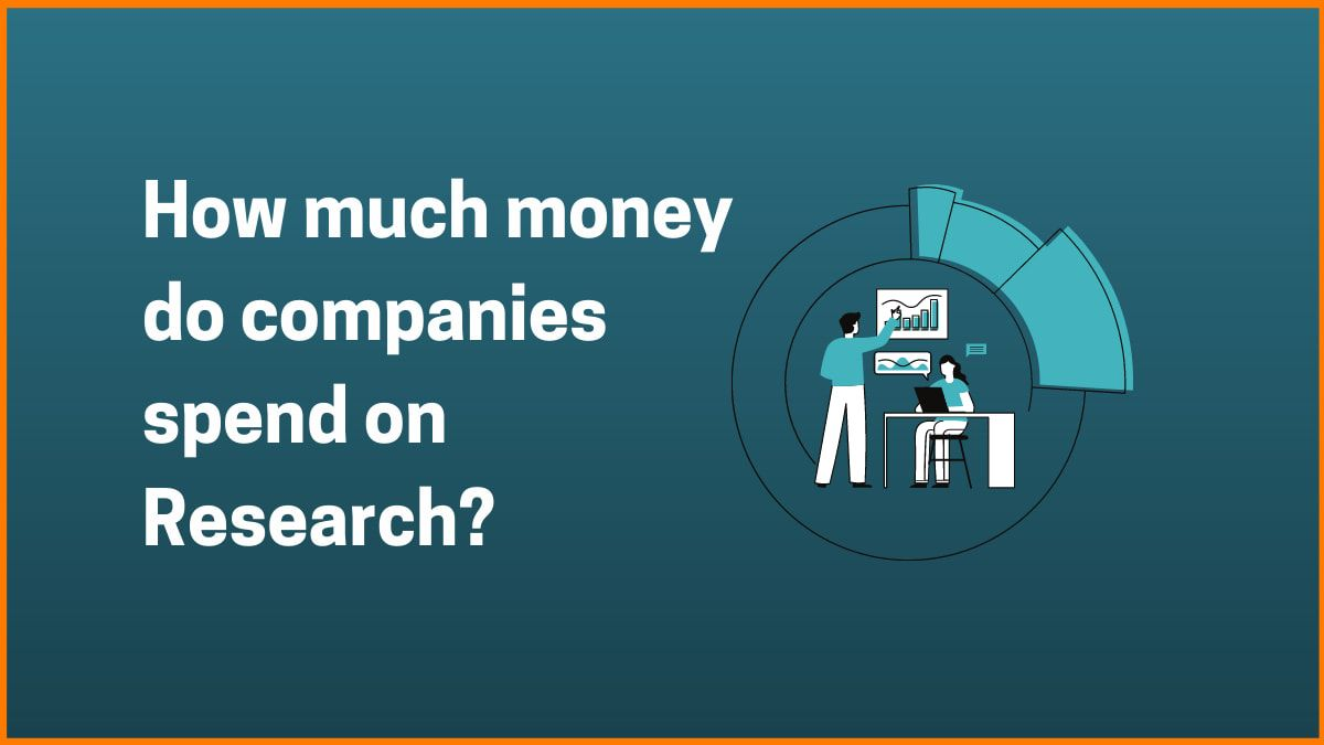 How much money do companies spend on Research?