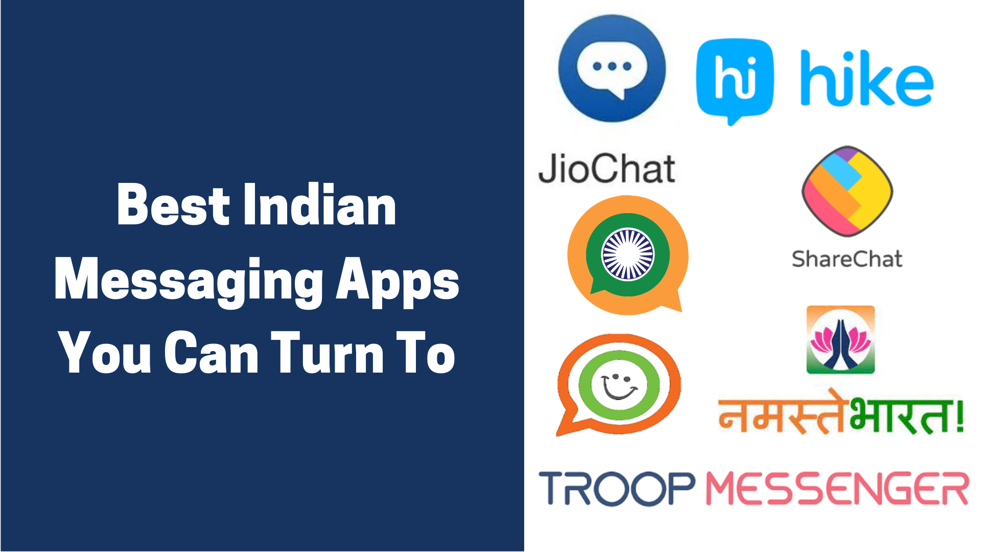 Best Indian Messaging Apps You Can Turn To