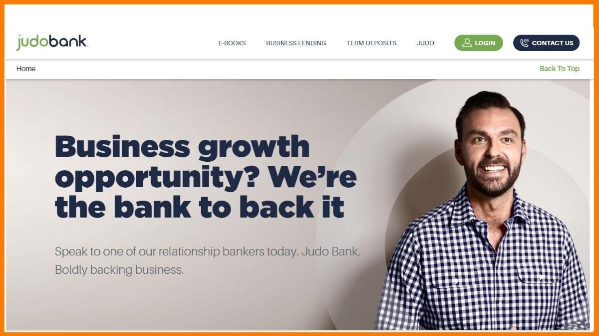 Judo Bank Website