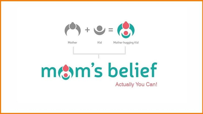 mom's belief tagline & meaning