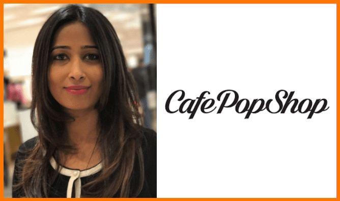 Poonam Prahlad, Founder & CEO at CafePopShop