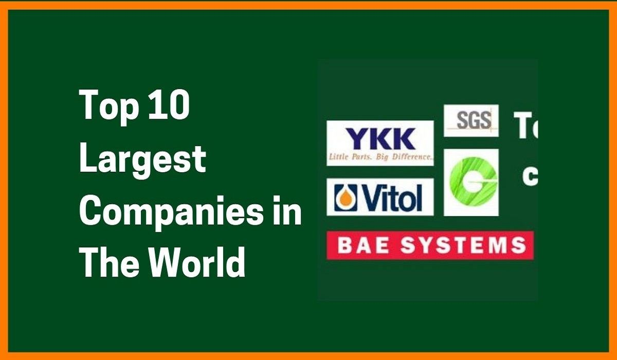 10 Largest Trillion Dollars Companies in The World You Ever Heard Of