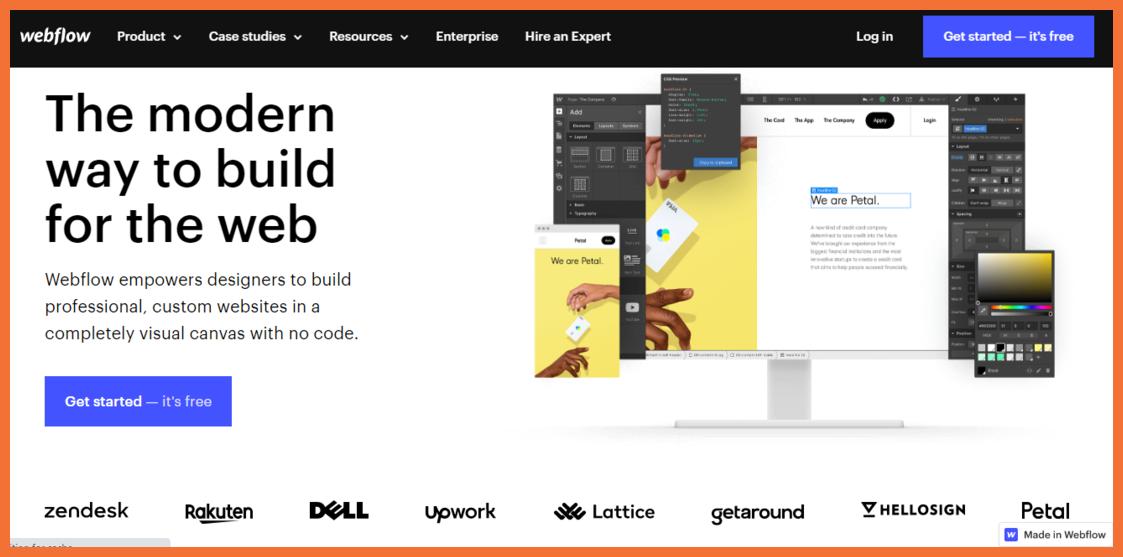 Web Flow No code Designing Tool