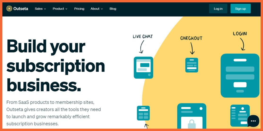 Outseta-no-code-CRM-StartupTalky