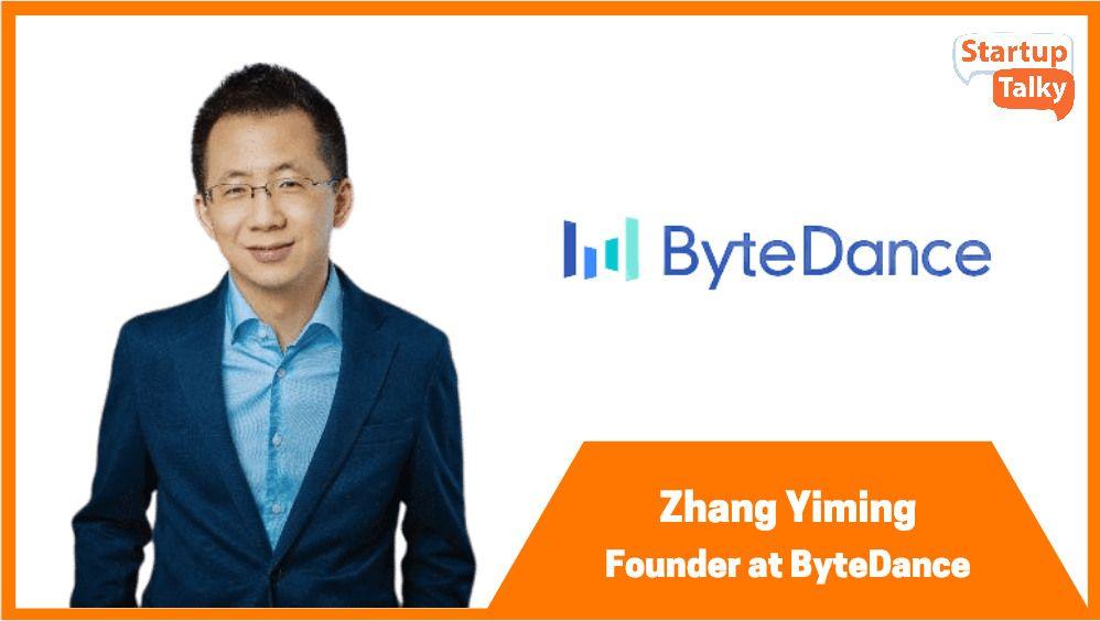 ByteDance Founder Zhang Yiming