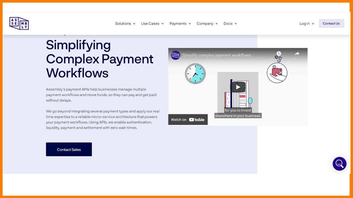 Assembly Payments Website