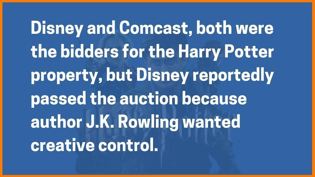 Comcast vs Disney
