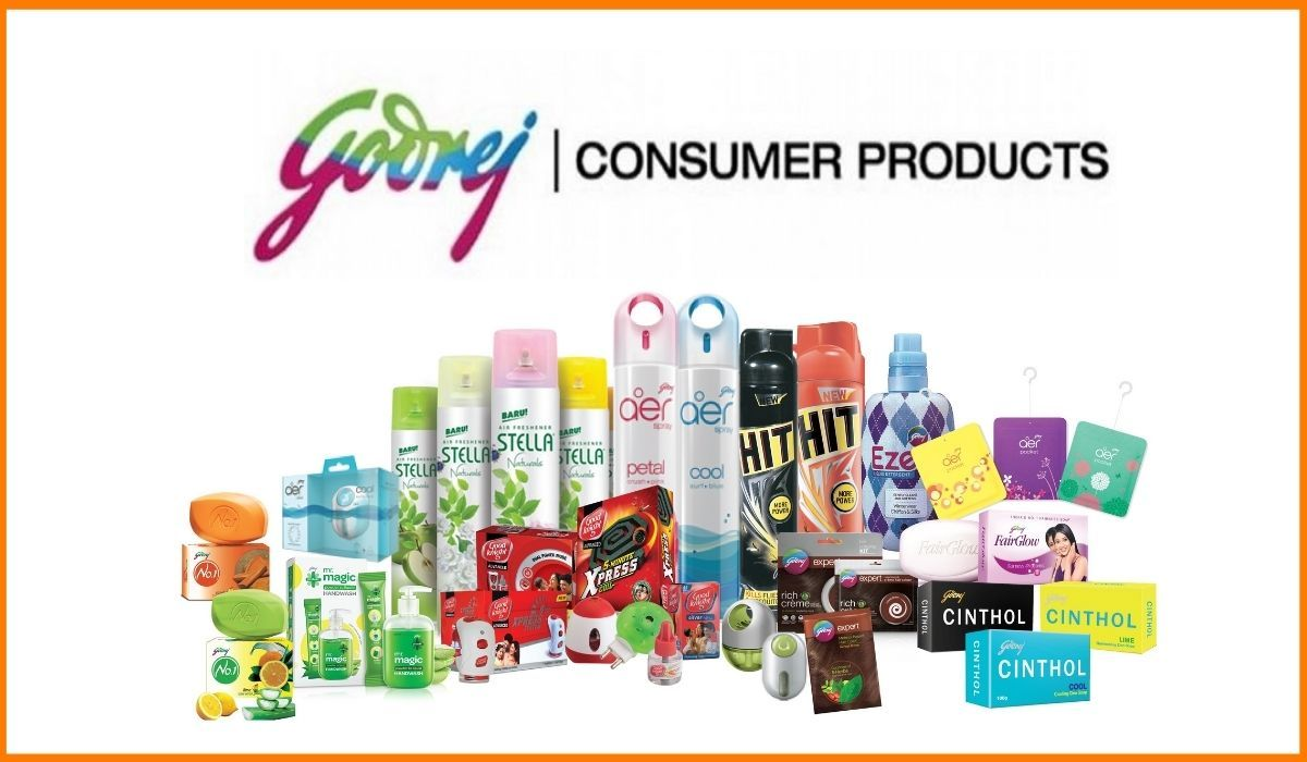 The consumer goods by Godrej consumer products