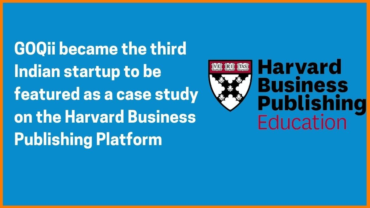 GOQii on Harvard business publishing platform
