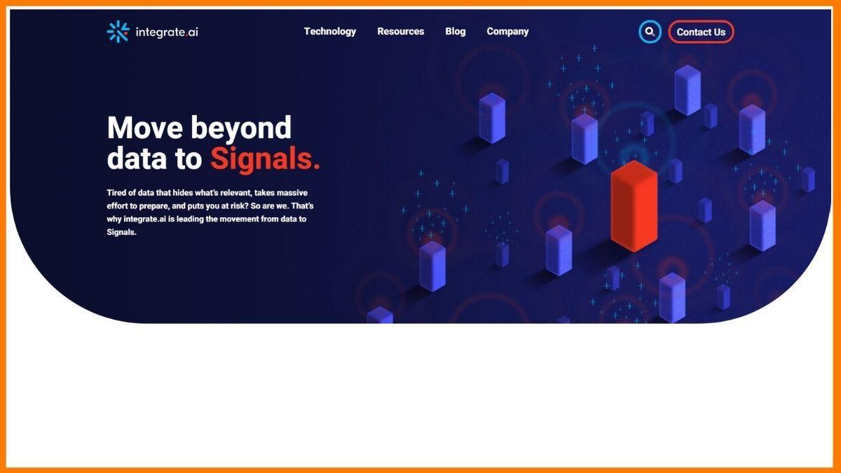 integrate.ai Website