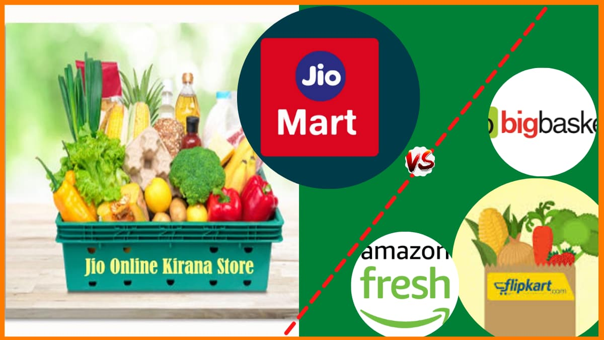 Reliance's JioMart to compete with Amazon, BigBasket & Flipkart