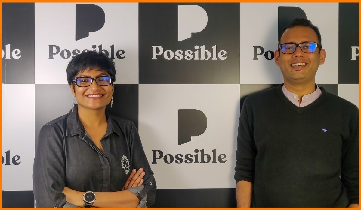 founders of Possible, Vishnu Saraf and Megha More