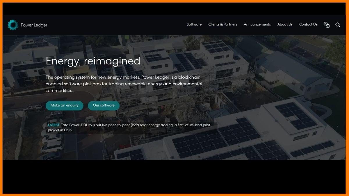 Power ledger Website
