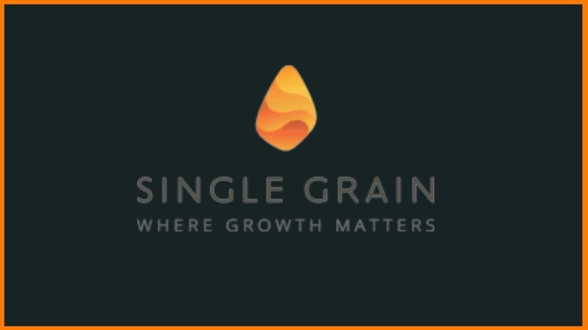 Single grain logo