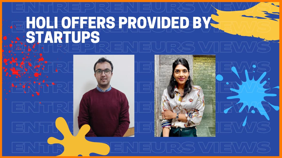 Amazing Holi 2021 Offers by Startups