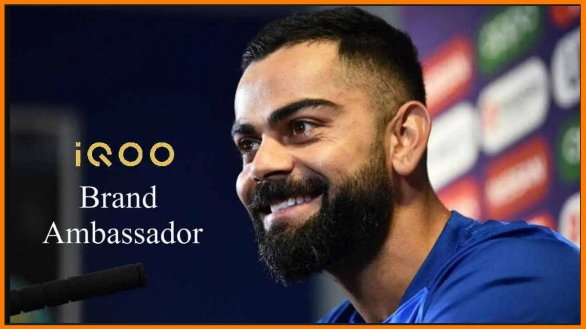 Virat Kohli Brand ambassador of IQOO