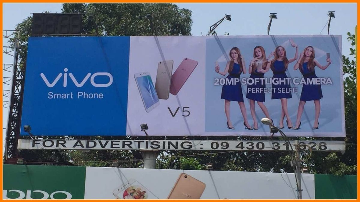Vivo Advertising Billboard