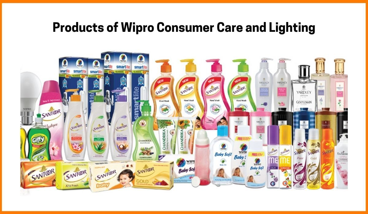 Products of Wipro Consumer Care and Lightning