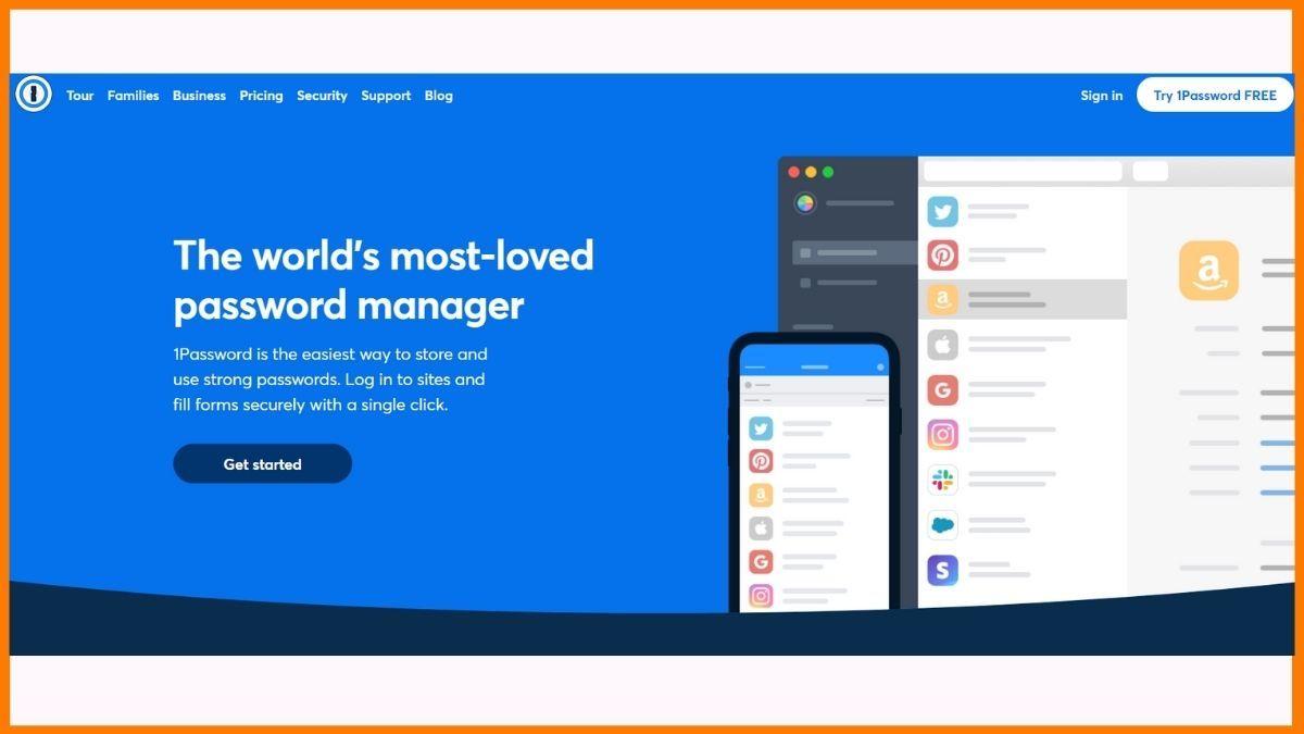 1password Website