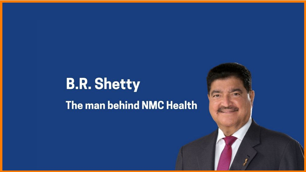 B. R. Shetty- Founder of NMC Health
