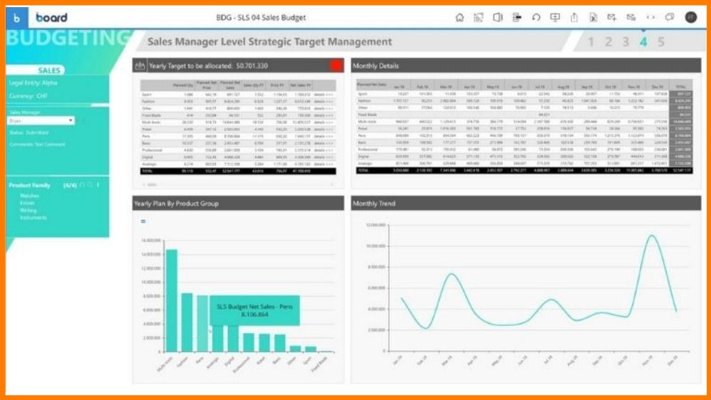 BOARD Business Intelligence Tool