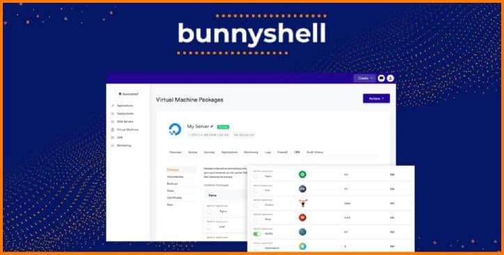 Bunnyshell - Web hosting application