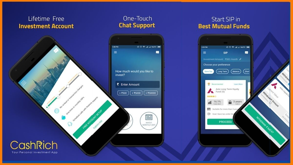 Cashrich Mobile app