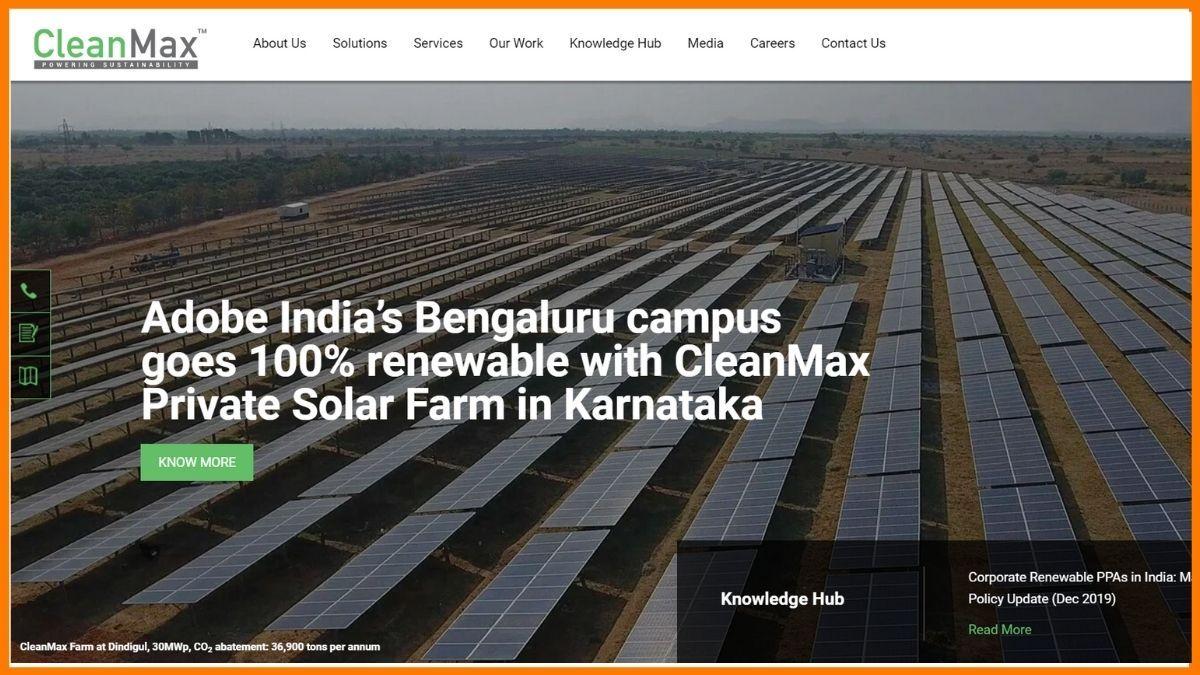 CleanMax Website