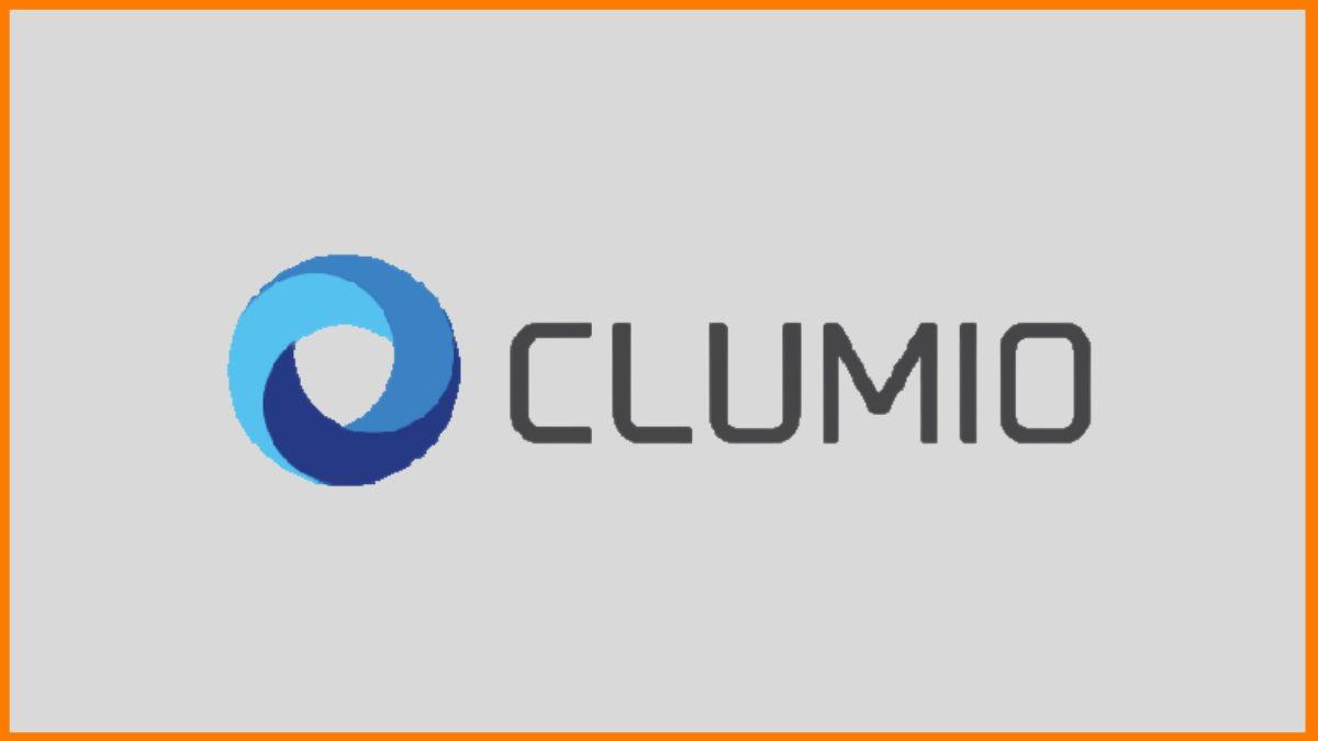 Clumio | Name, tagline and logo