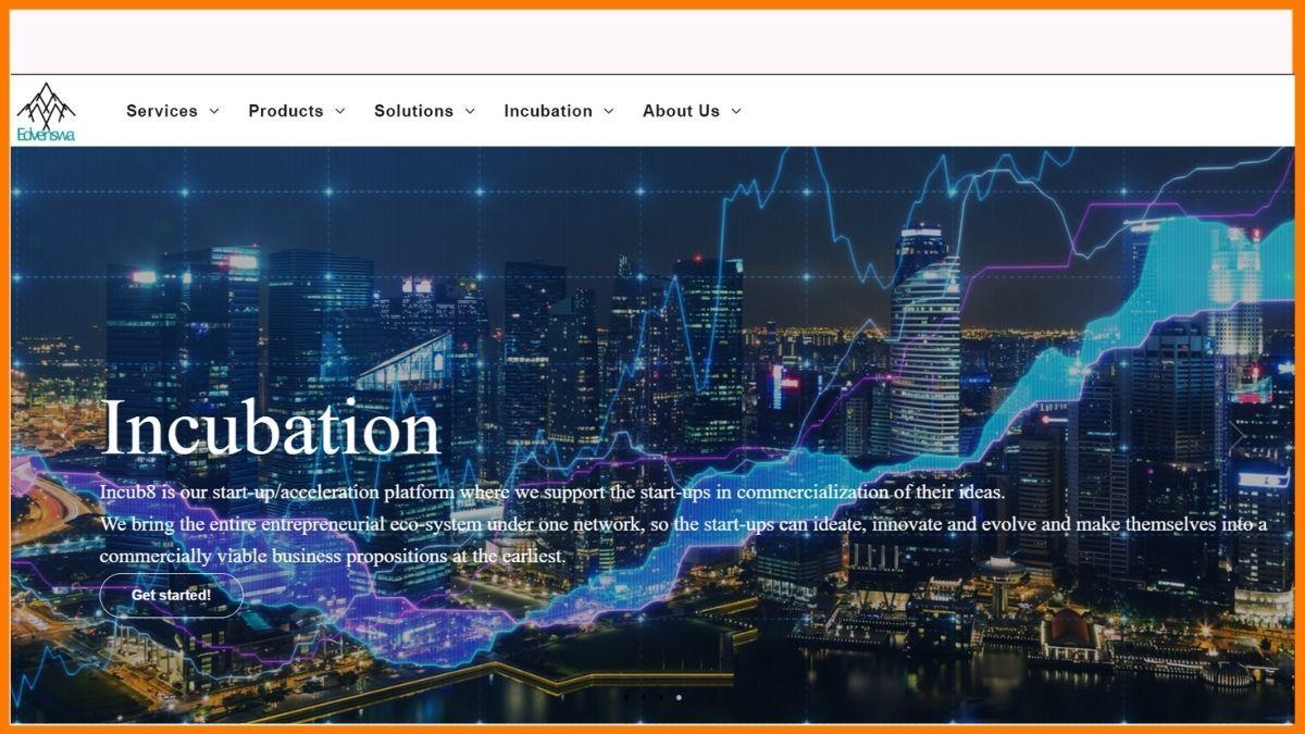 Edvenswa Tech website