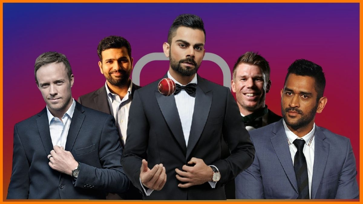 How much does these Top 7 Cricketers Charge per Instagram post
