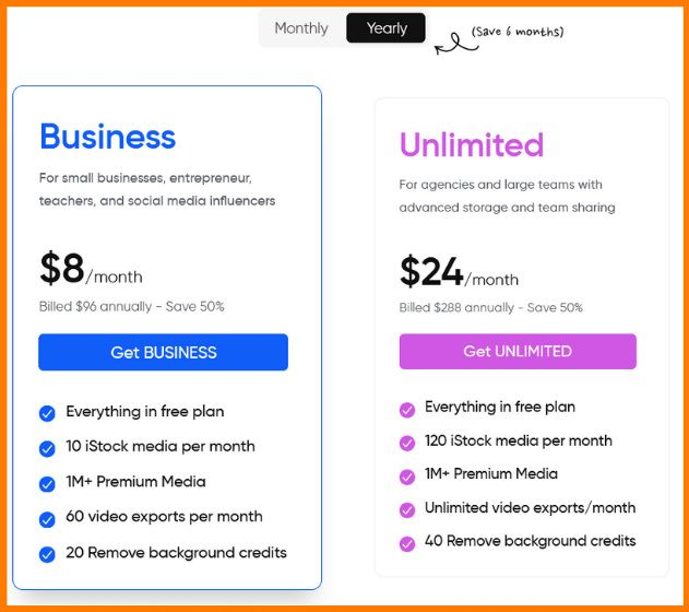 Invideo Pricing