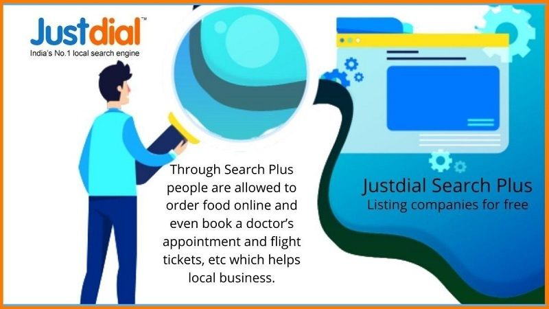 How Justdial helps local businesses through Justdial Search Plus