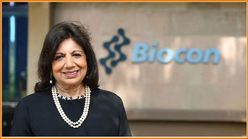 Kiran Majumdar Shaw - She is The Founder of Biocon