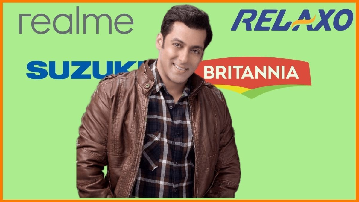 List of Brands Endorsed By Salman Khan