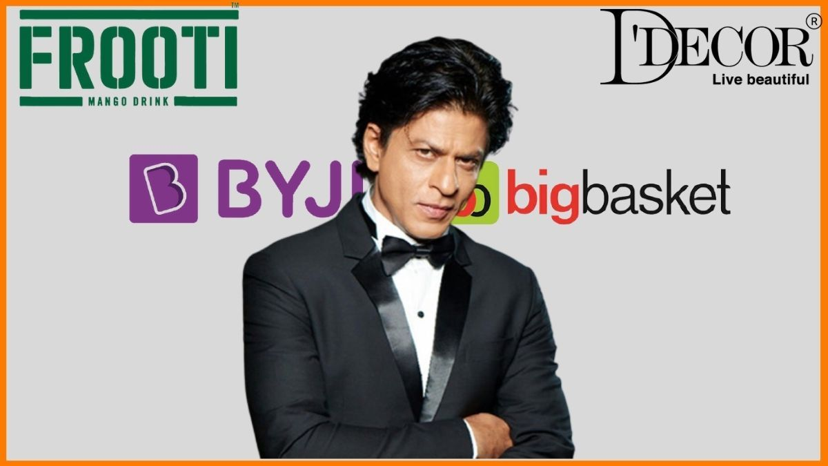 List of Brands Endorsed By ShahRukh Khan