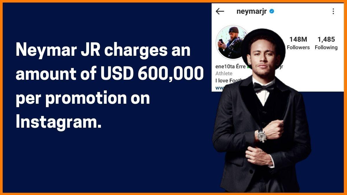 Neymar JR Instagram Charge