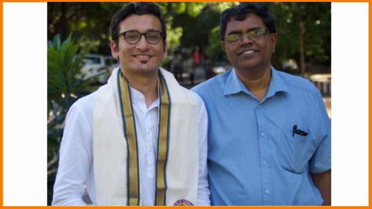 Pranjal Mehta(Left) with Prof.Satyanarayanan