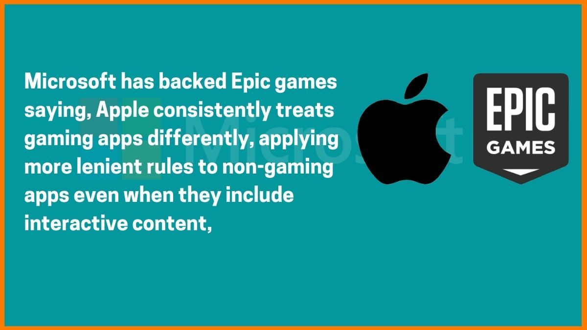 Microsoft Backed Epic Games