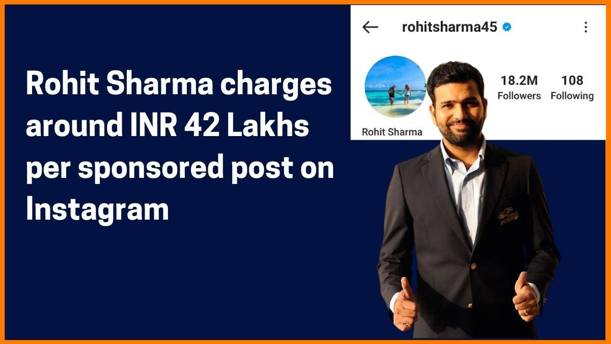 Rohit Sharma Instagram Charge