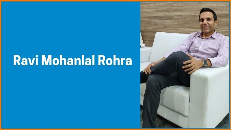 Ravi Mohanlal Rohra-  Co-Founder of Scitron