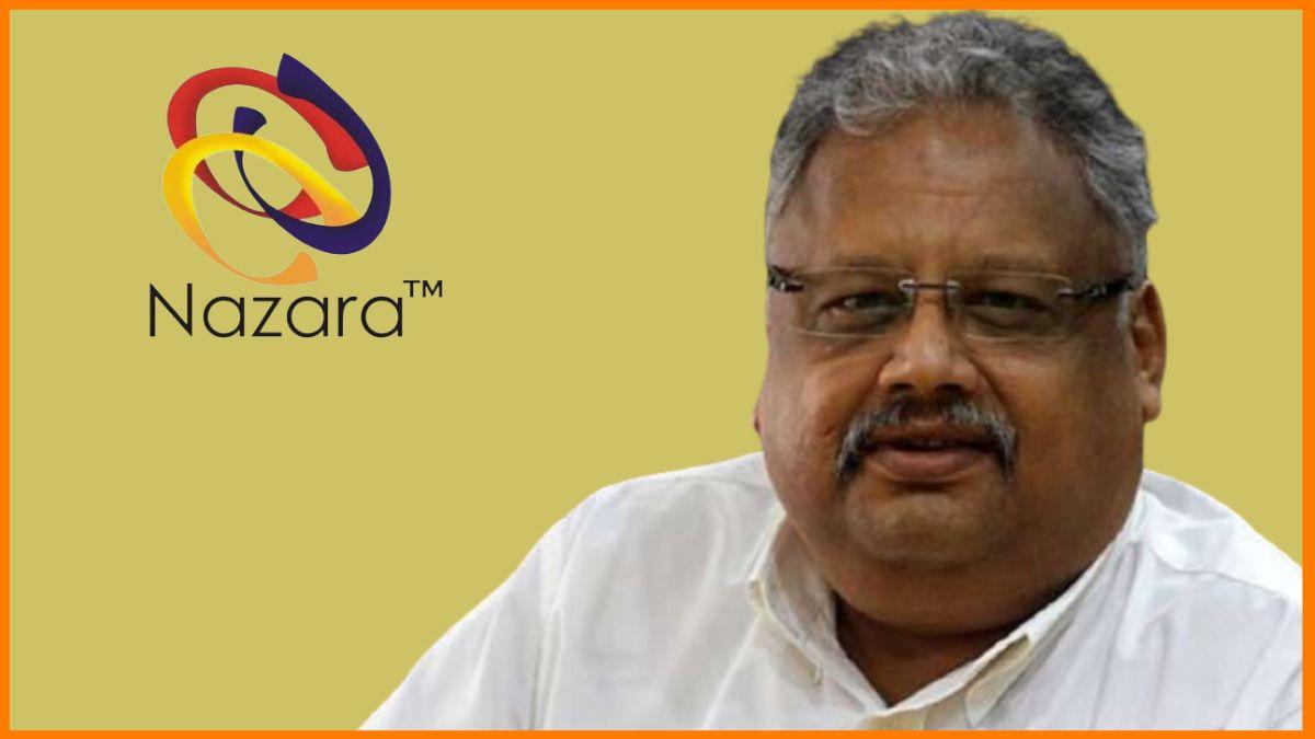 Rakesh Jhunjhunwala- Nazara Technologies