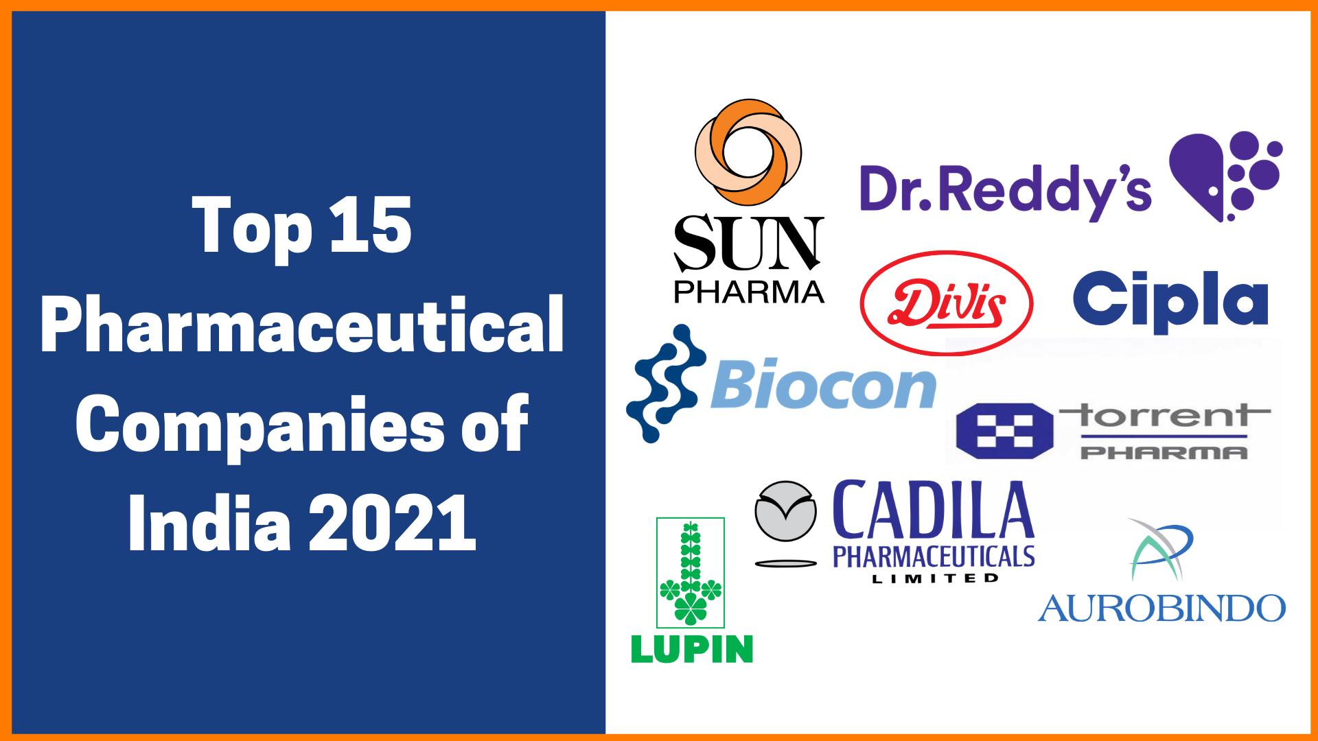 Top 15 Pharmaceutical Companies in India 2021