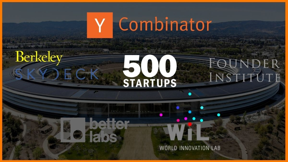 List of Top Startup Incubators & Accelerators in Silicon Valley