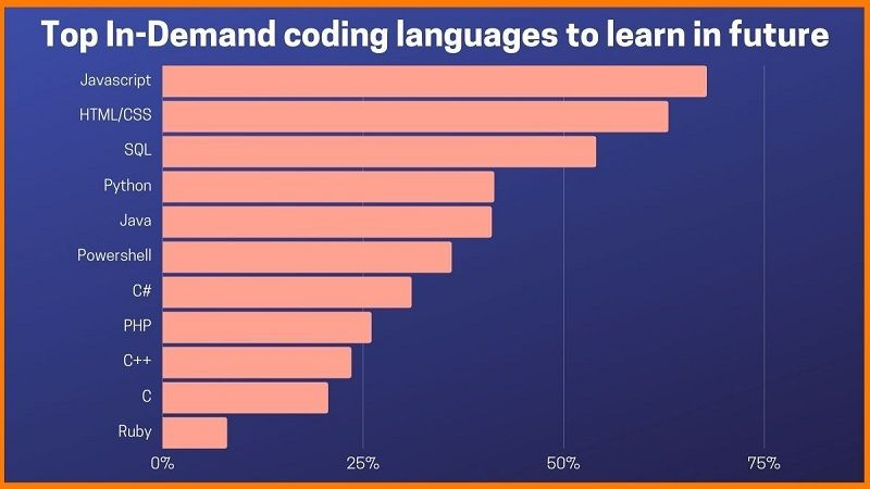 Top in-demand coding languages to learn