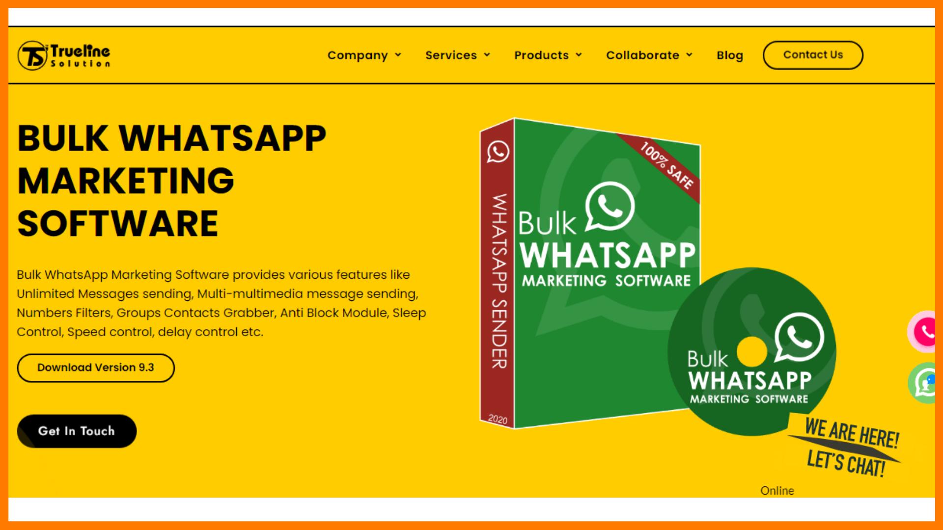 Trueline Bulk WhatsApp Sender